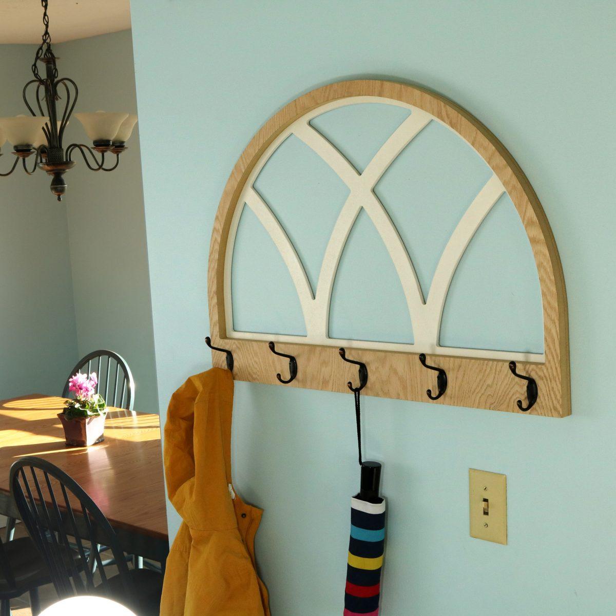 farmhouse wall mounted coat rack