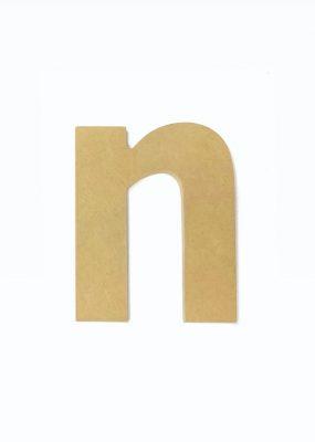 lowercase n